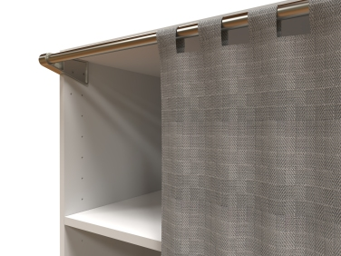 Support Rideau De Dressing Spaceo Home Pour Leroy Merlin Ludovic